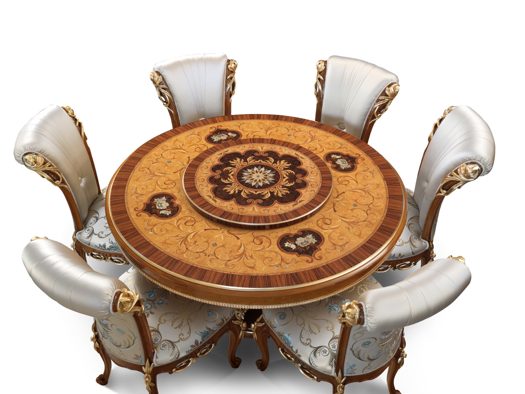 3166 round table with lazy susan, 2641 chair (1700 x 1275)