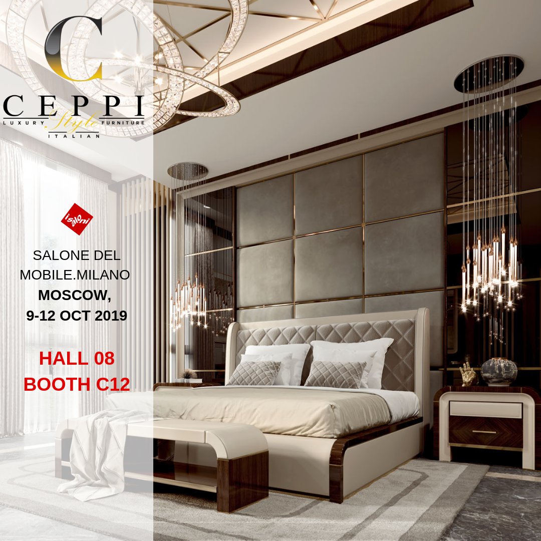 salone del mobile.milano moscow, 9 12 oct 2019 hall 08 booth c12